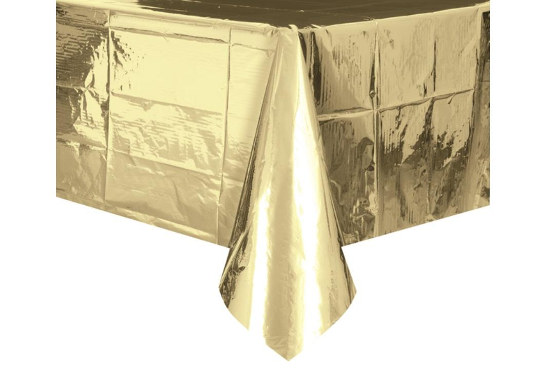 Gold Metallic Tablecover