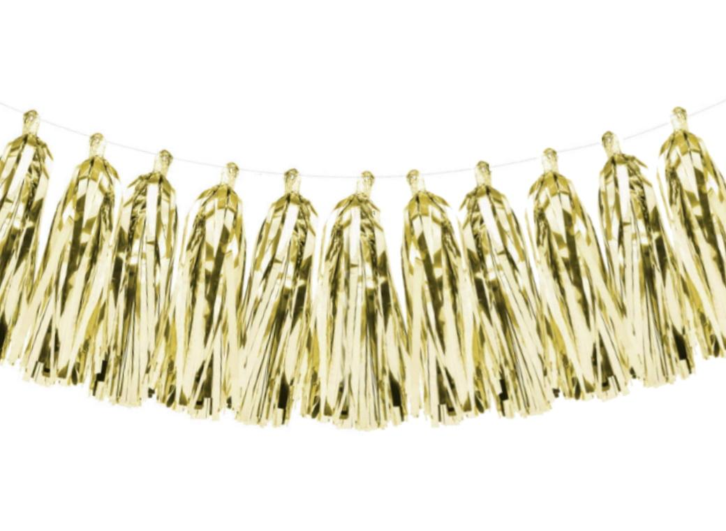 Tassel Party Garland - Gold
