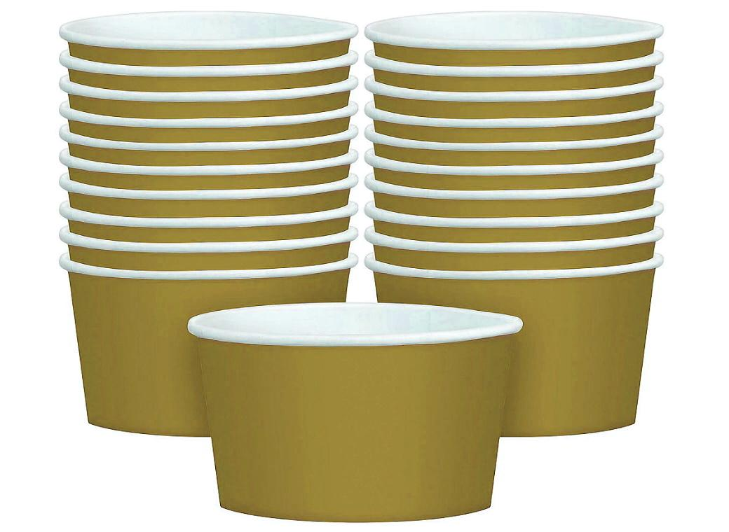 Treat Cups 20pk - Gold