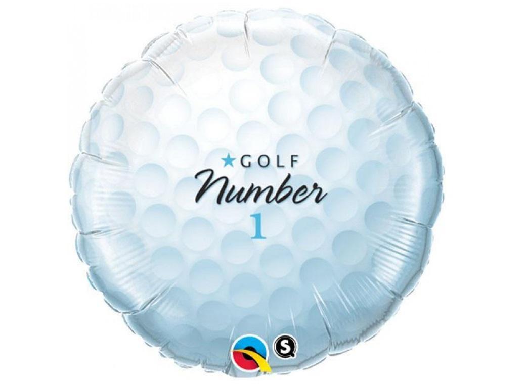 Golf Ball Foil Balloon
