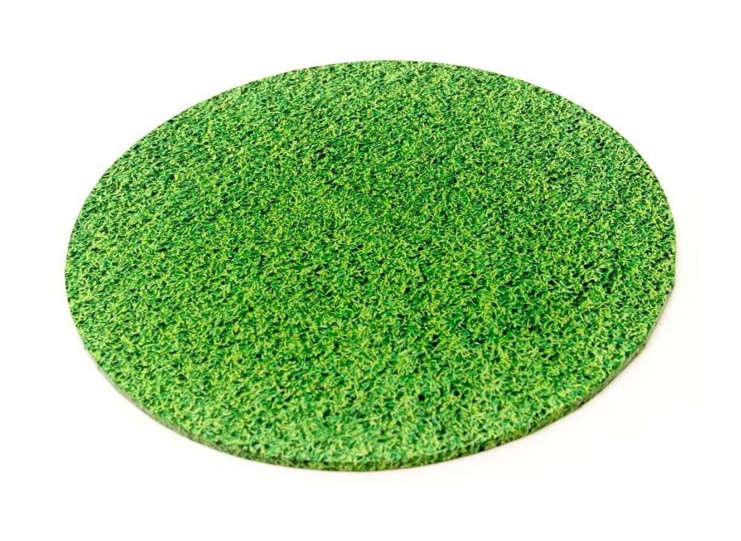 Grass Masonite Cake Board Round - 12