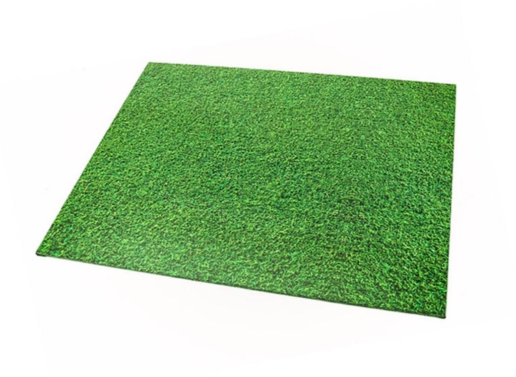 Grass Masonite Cake Board Rectangle
