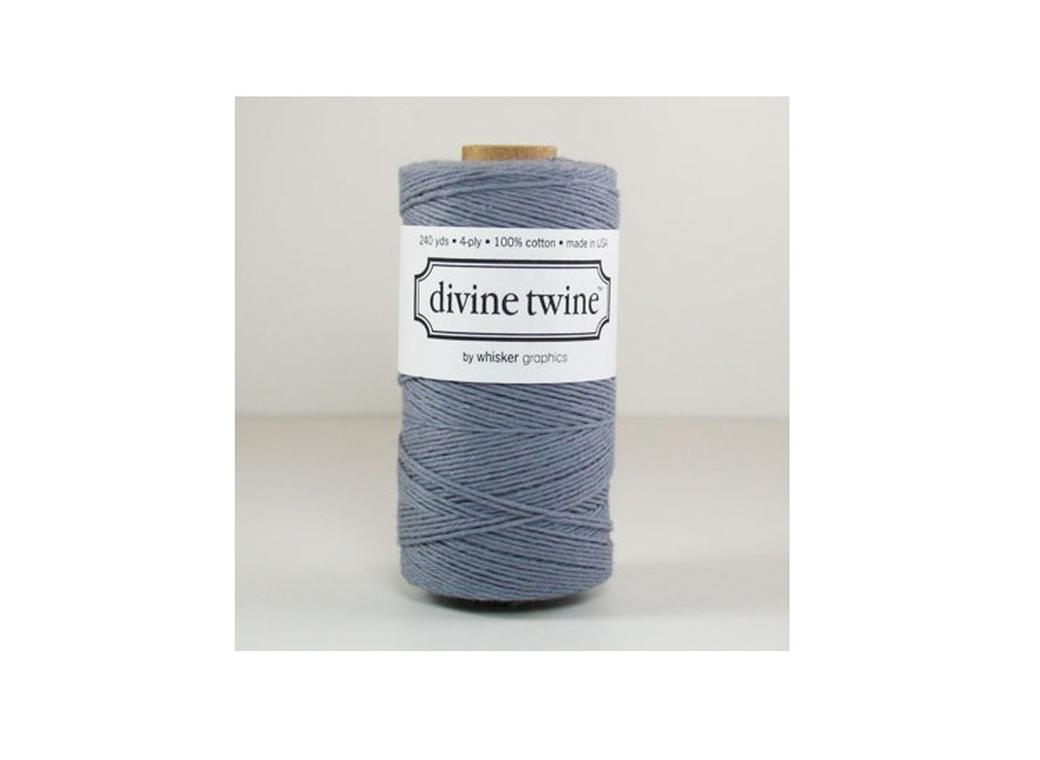 100% Cotton Bakers Twine - Solid Grey