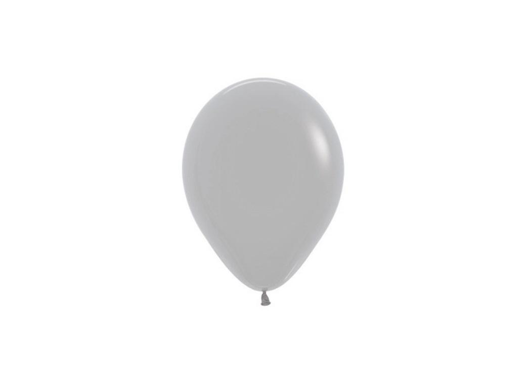Grey 5in Balloons - 5pk