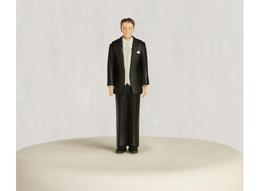 Wedding Cake Topper - Groom