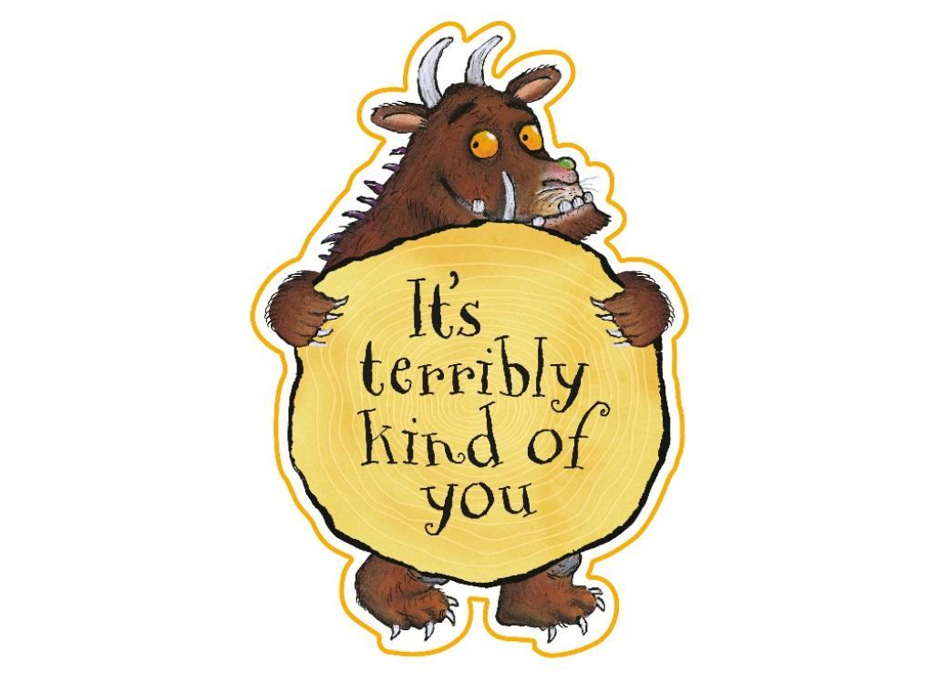 Gruffalo Thank You Cards