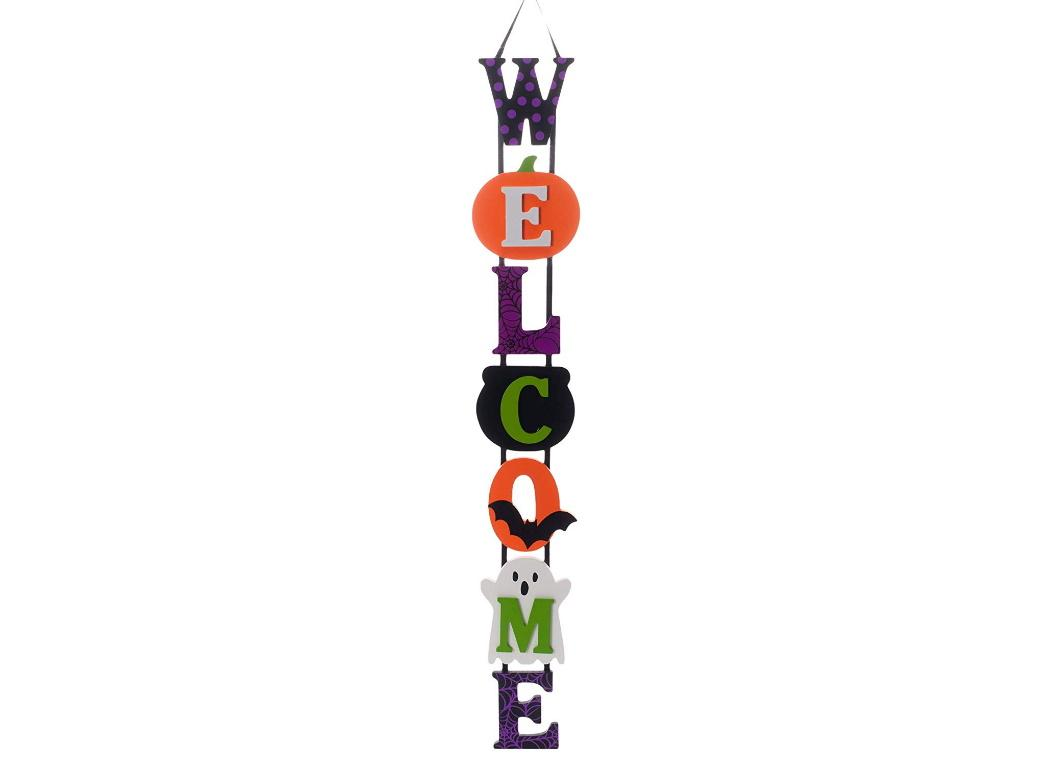 Halloween Deluxe Welcome Sign