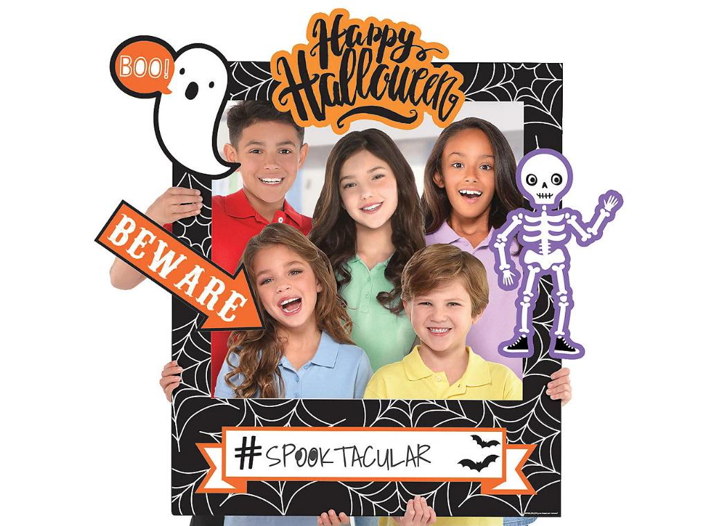 Halloween Friends Customisable Photo Frame