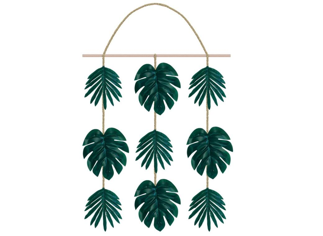 Hanging Palm Leaves Decoration