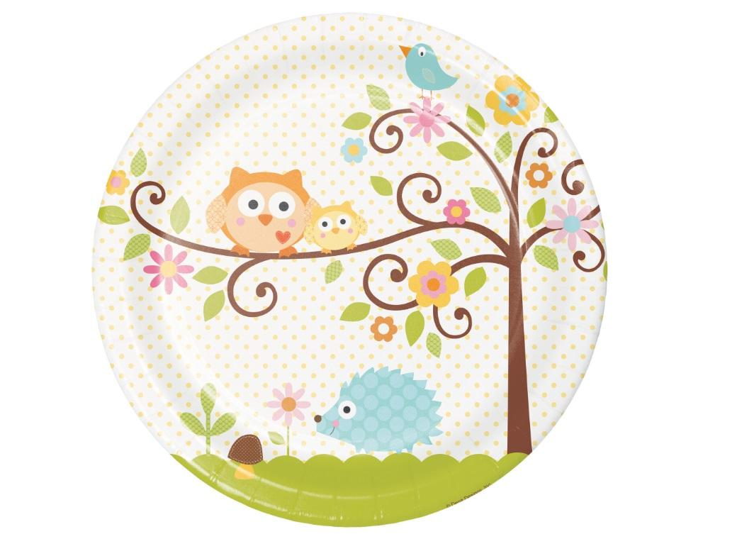 Happi Tree Dinner Plates 8pk