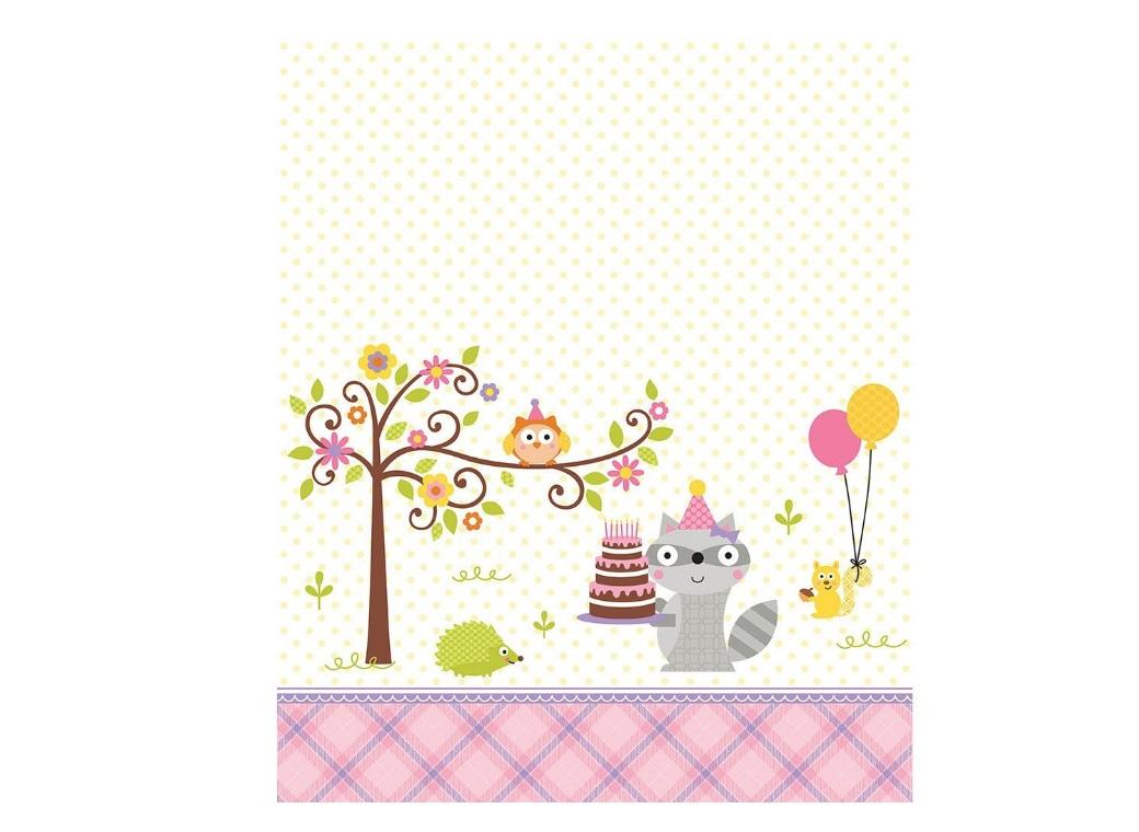 Happi Woodland Girl Tablecover