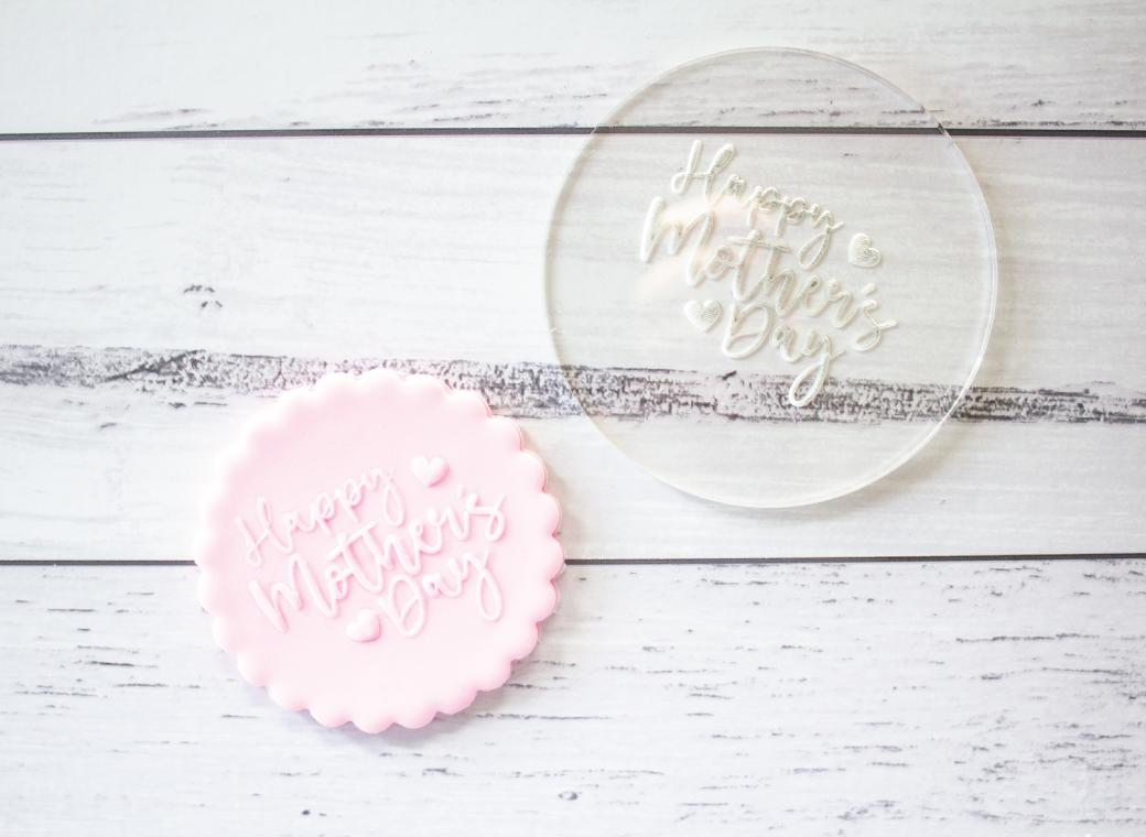 Debosser Stamp - Happy Mother's Day