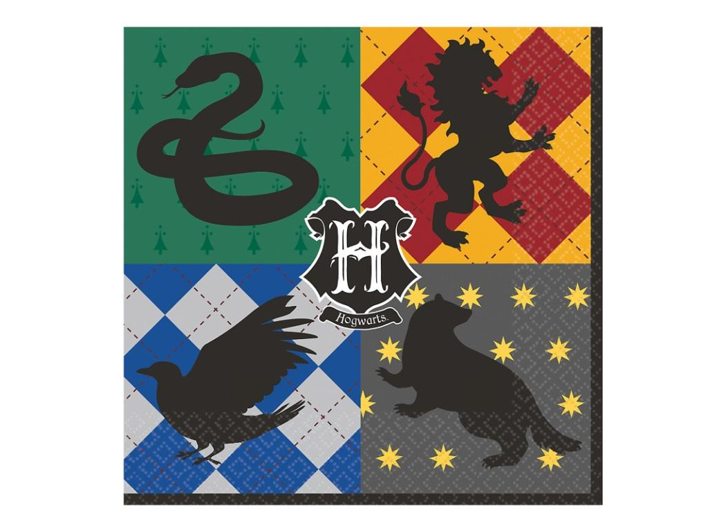 Harry Potter Lunch Napkins 16pk