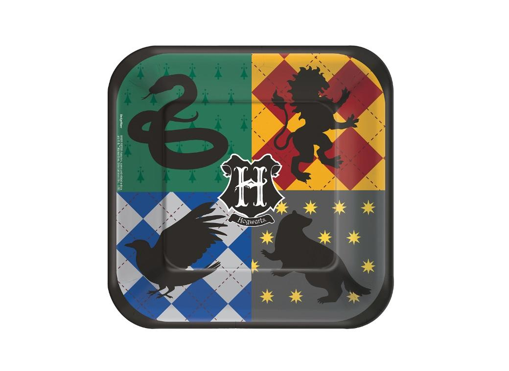 Harry Potter Lunch Plates 8pk