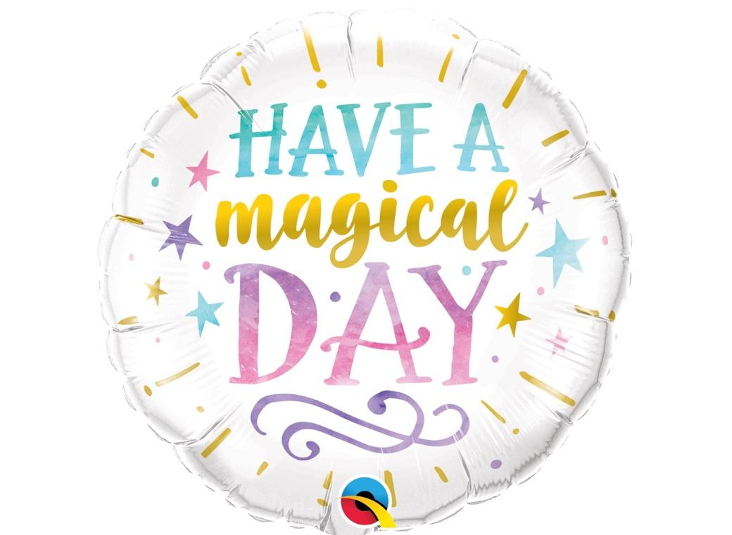 Have A Magical Day Foil Balloon