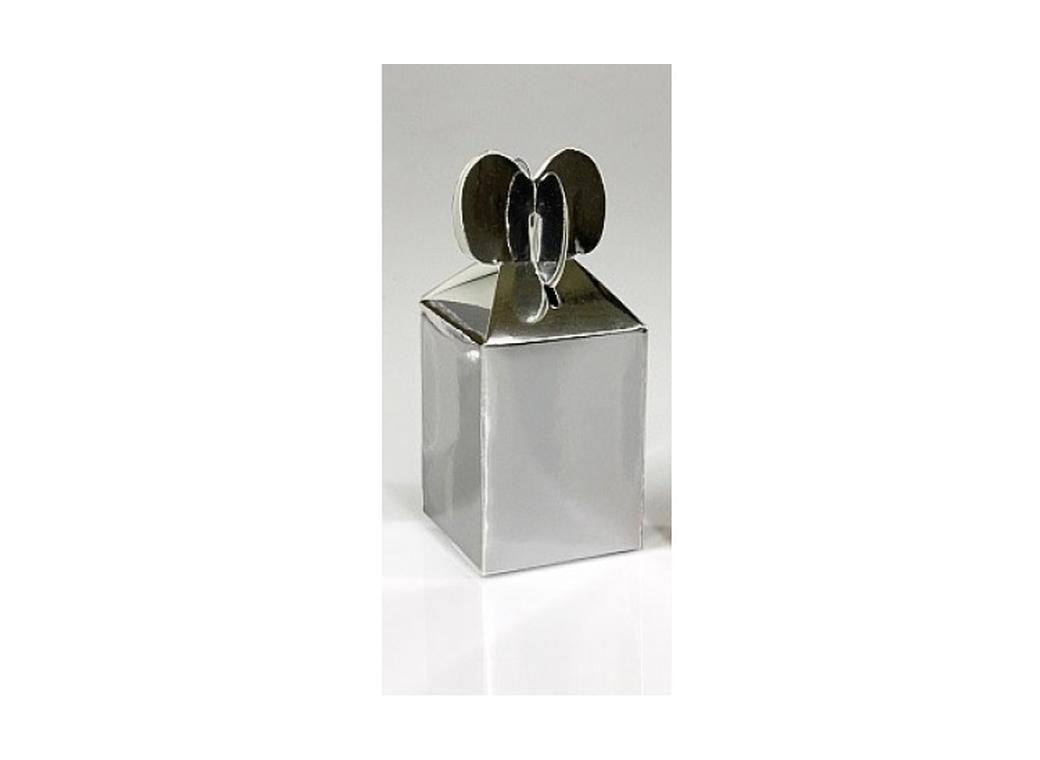 Heart Favour Box - Metallic