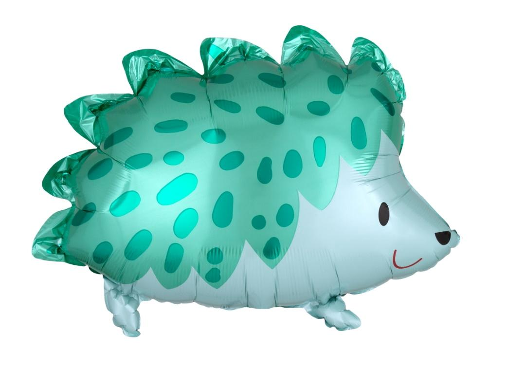 Hedgehog Shaped Foil Balloon
