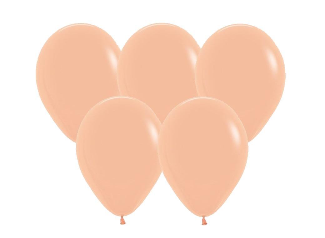 Peach Blush Balloons - 25pk