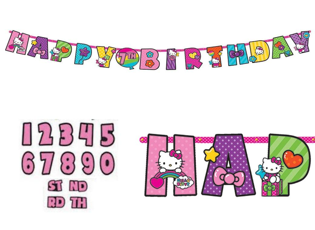 Hello Kitty Add an Age Banner