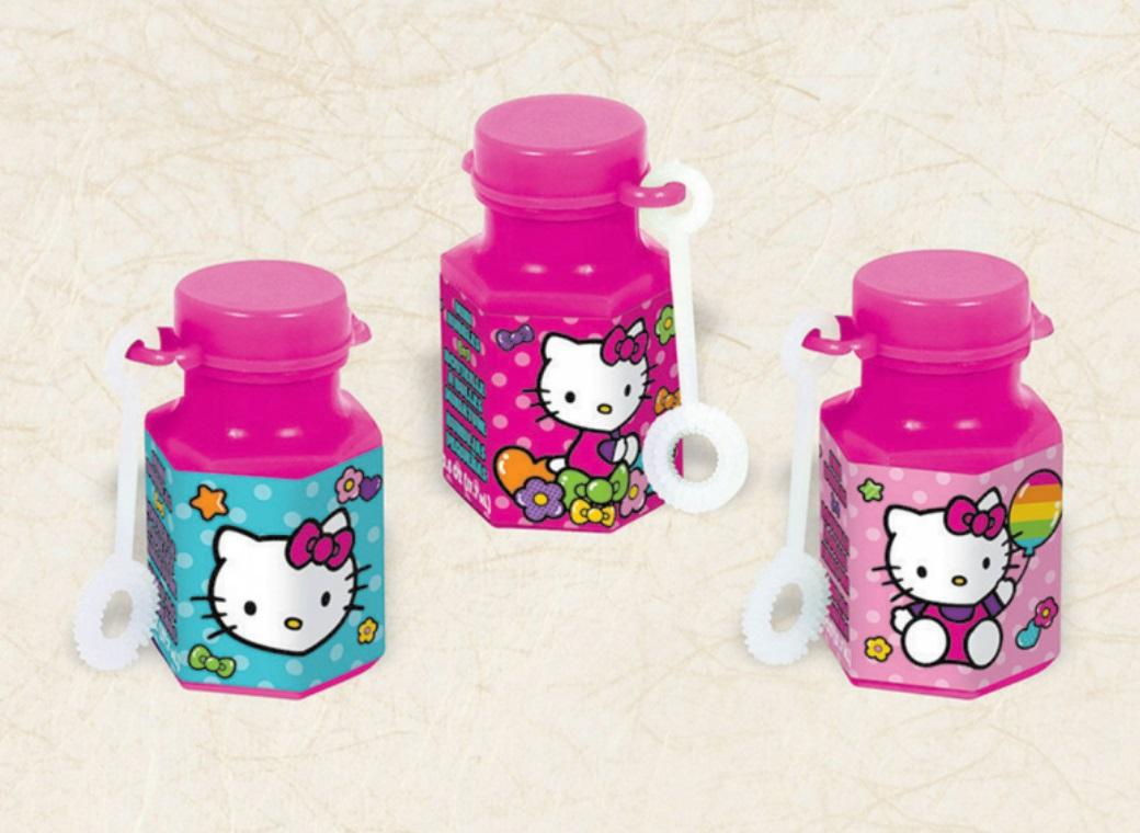 Hello Kitty Mini Bubbles 12pk