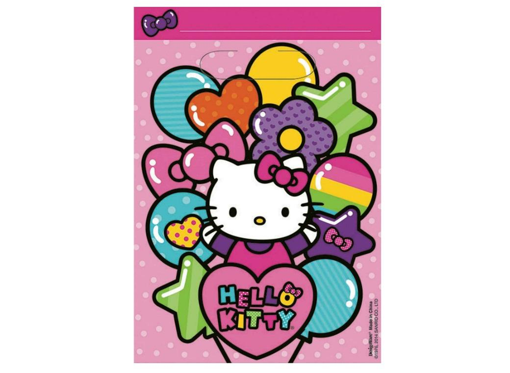 Hello Kitty Loot Bags 8pk