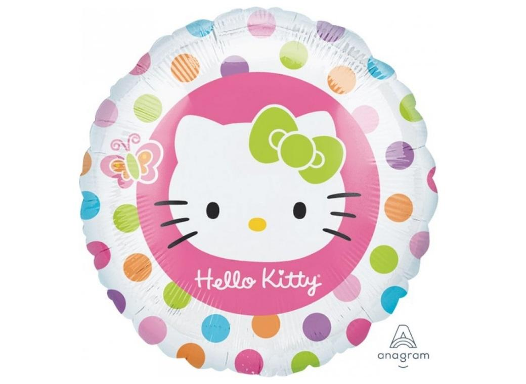 Hello Kitty Polka Dots Foil Balloon