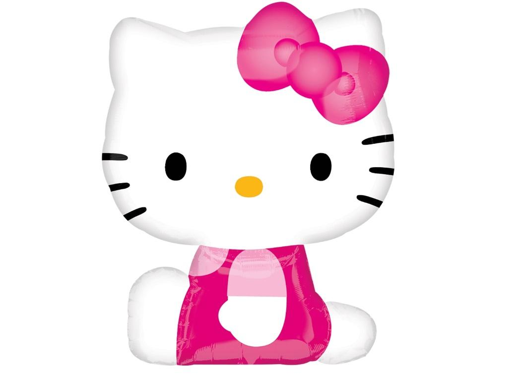Hello Kitty SuperShape Foil Balloon