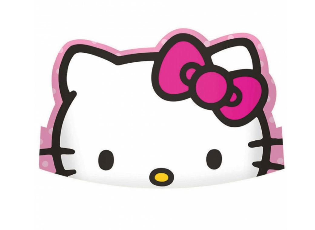 Hello Kitty Tiaras 8pk