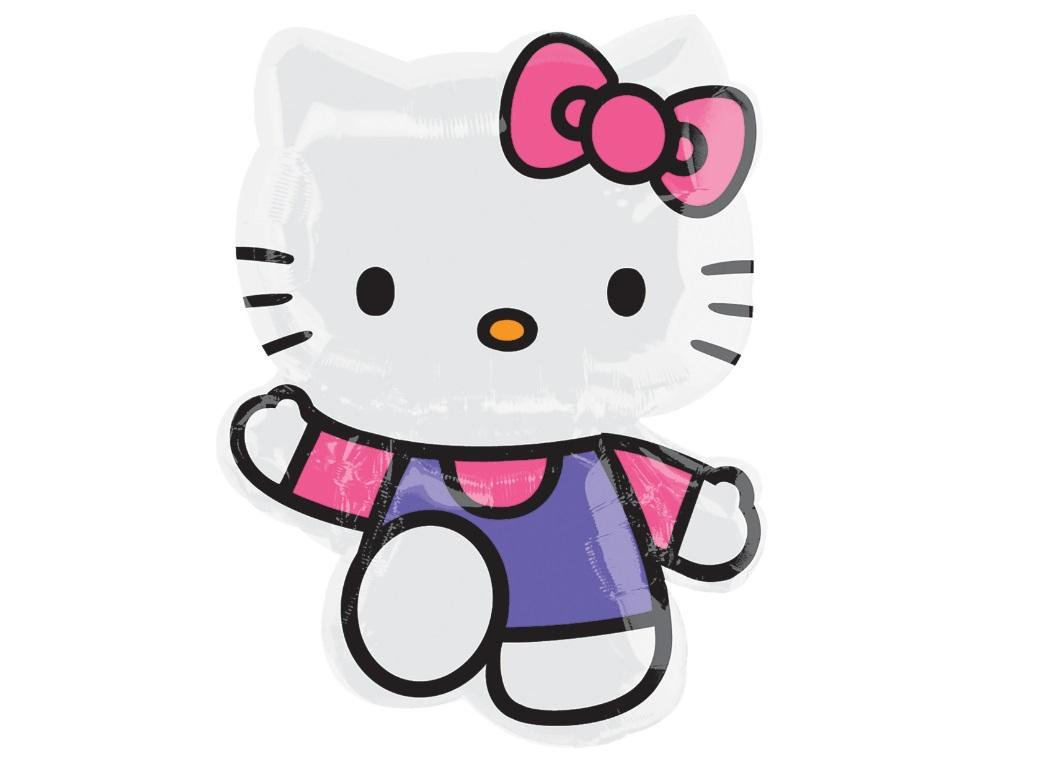 Hello Kitty Waving SuperShape Foil Balloon