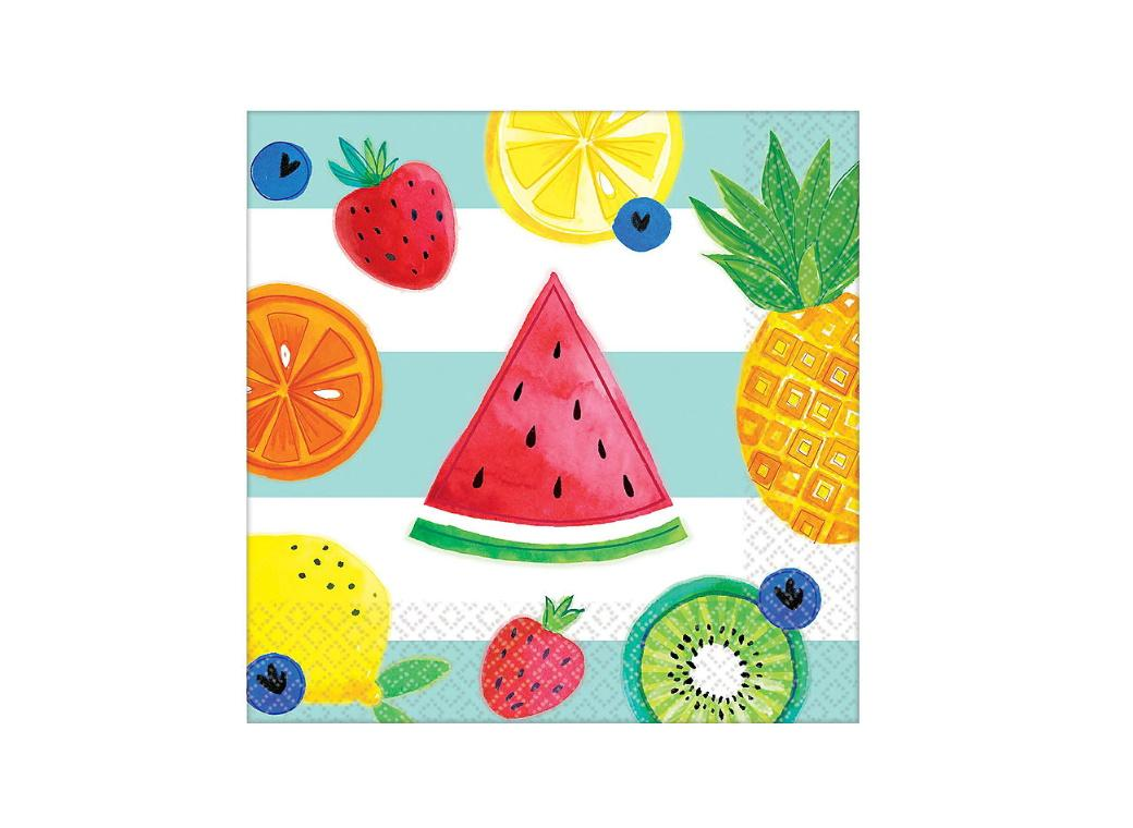 Hello Summer Beverage Napkins 16pk