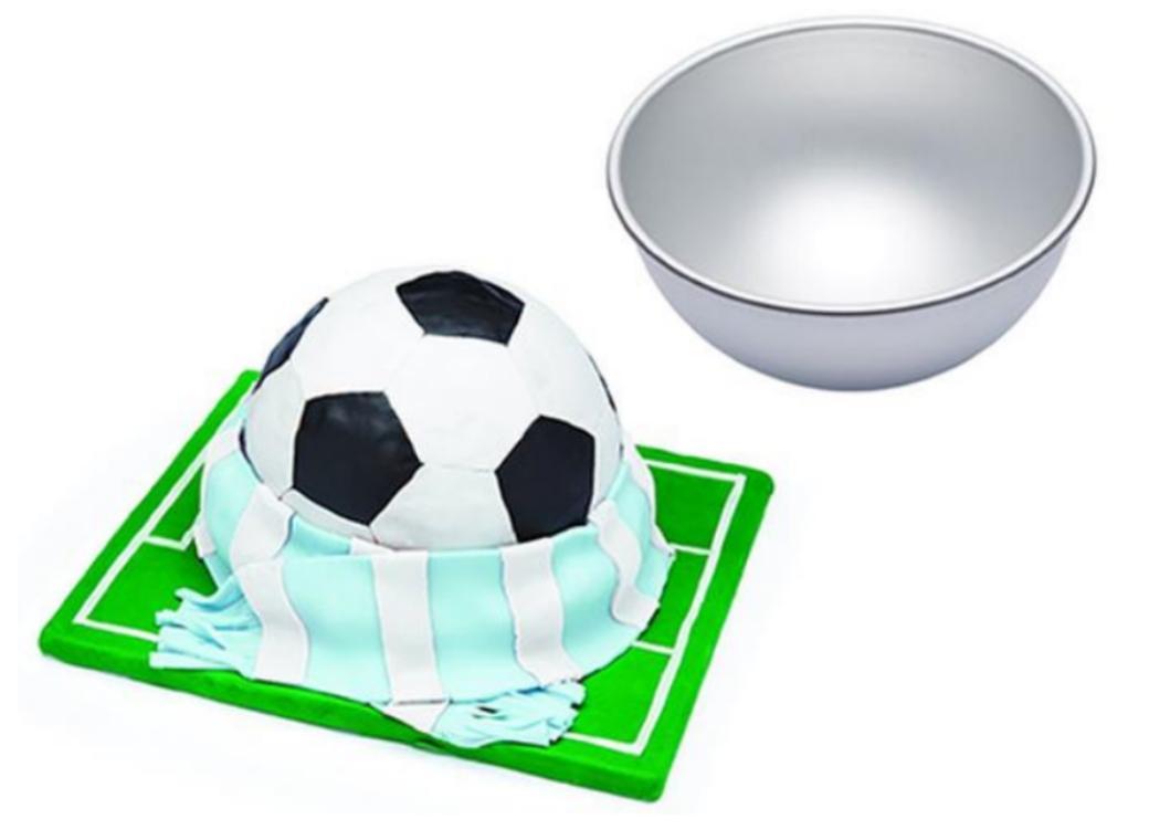 Fat Daddio's Hemisphere Cake Pan 8 inch
