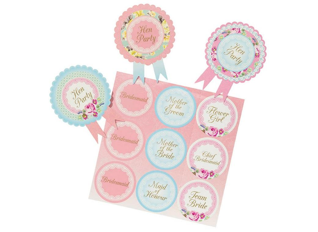 Truly Scrumptious Hen Party Badges