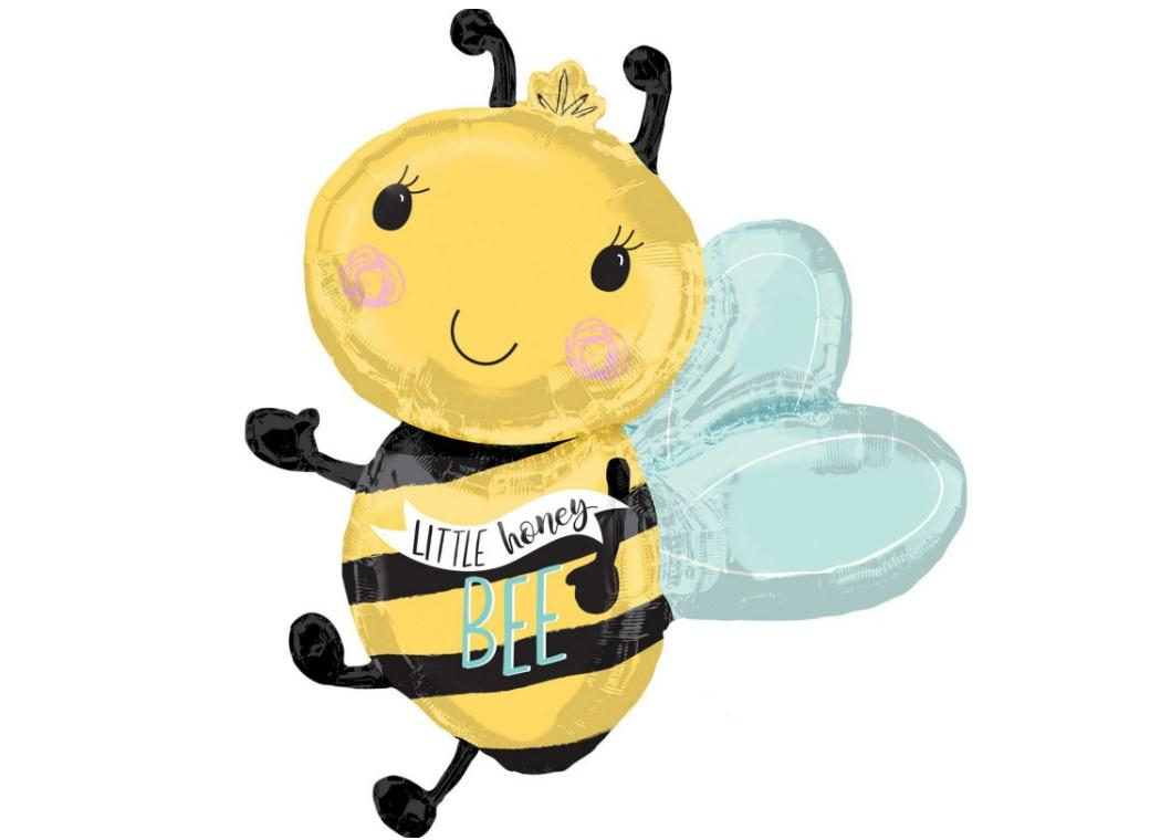 Little Honey Bee SuperShape Foil Balloon