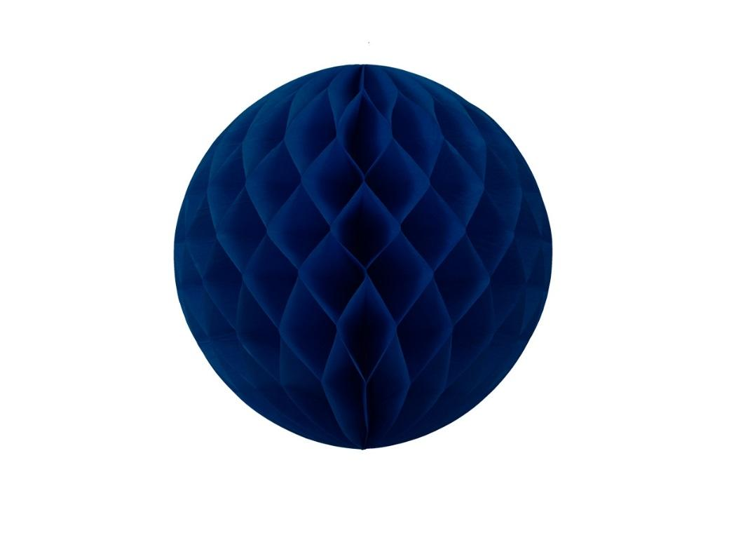 Tissue Honeycomb Ball 25cm - Navy Blue