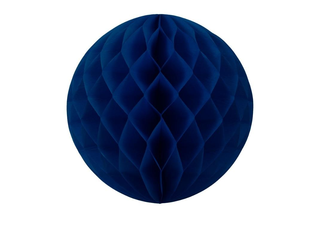 Tissue Honeycomb Ball 35cm - Navy Blue