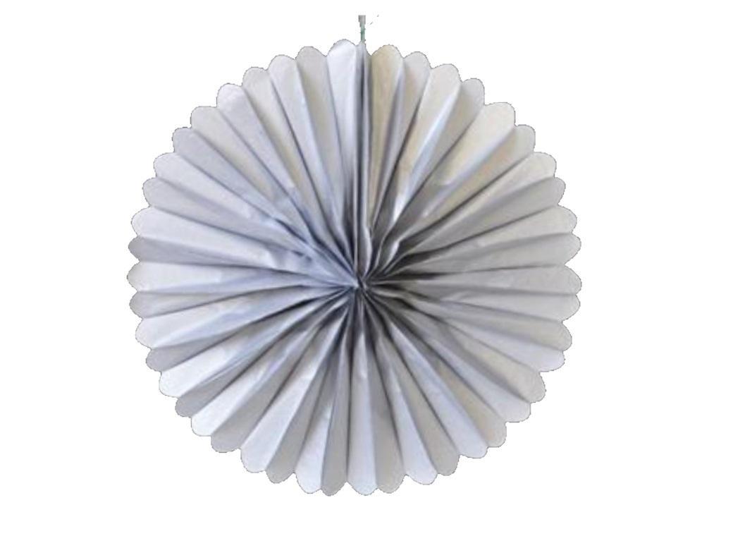 """Paper Fan 16"""" - Silver"""
