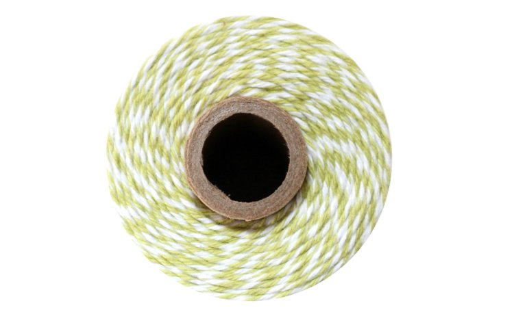 100% Cotton Bakers Twine – Honeydew