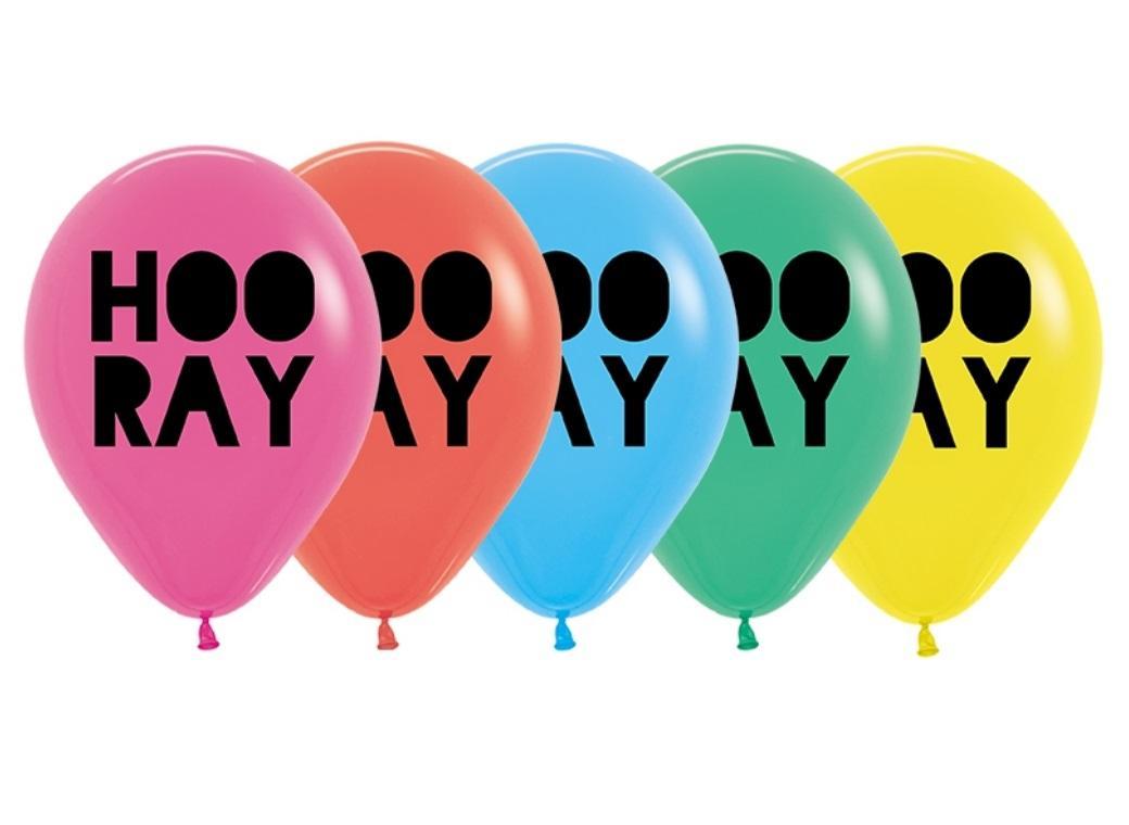 Hooray Balloons 5pk