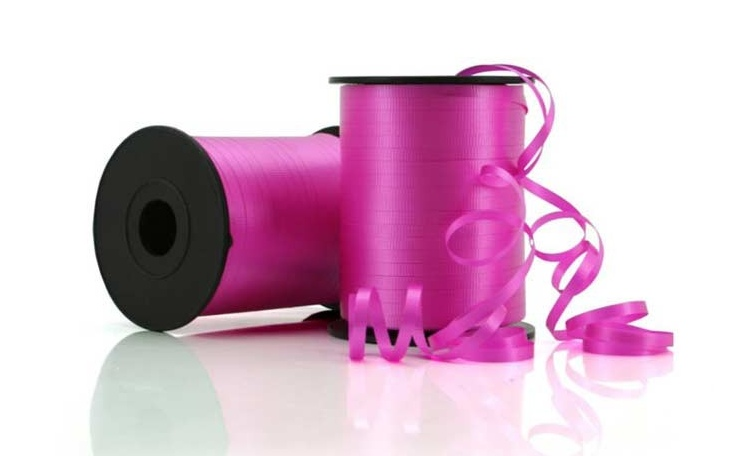 Curling Ribbon - Hot Pink 91m