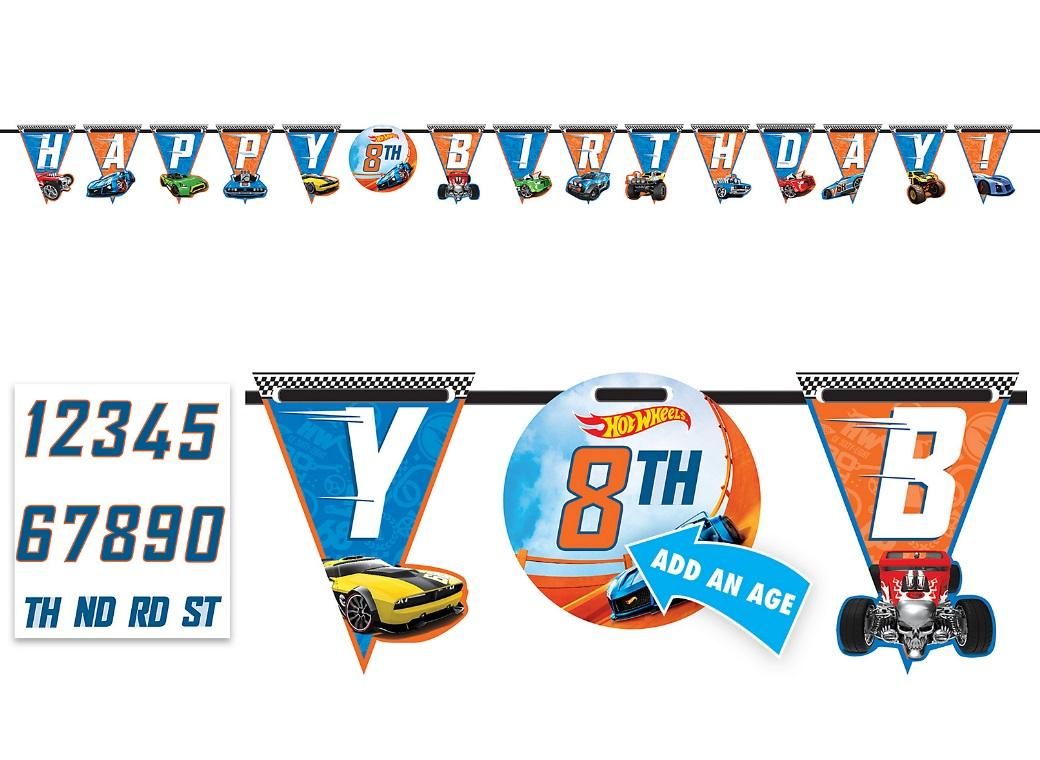 Hot Wheels Add An Age Banner