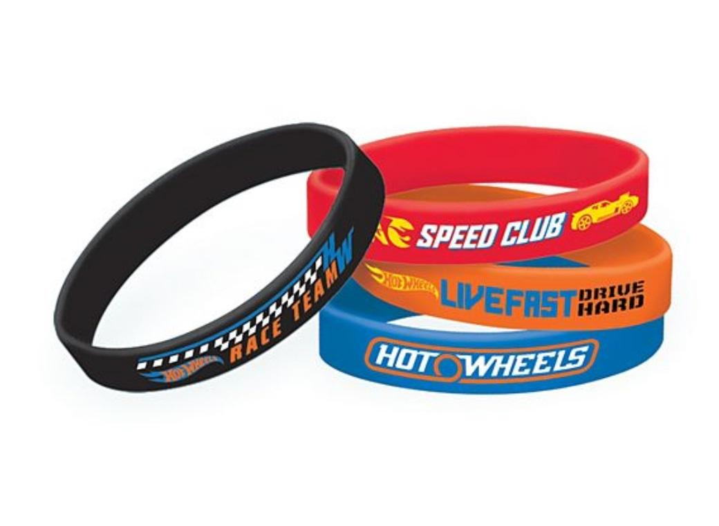 Hot Wheels Bracelets 6pk