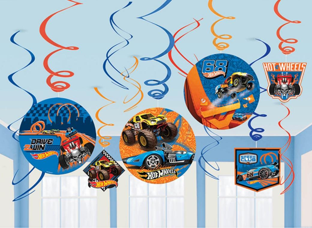 Hot Wheels Hanging Swirls