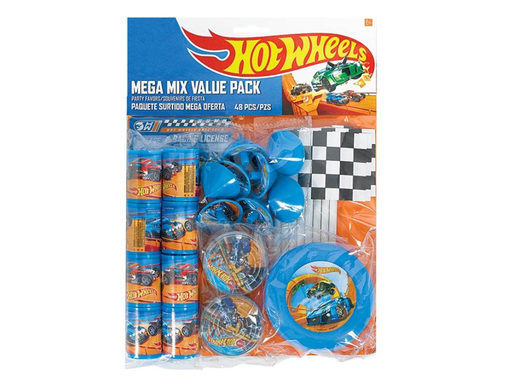 Hot Wheels Mega Value Favour Pack - 48pce