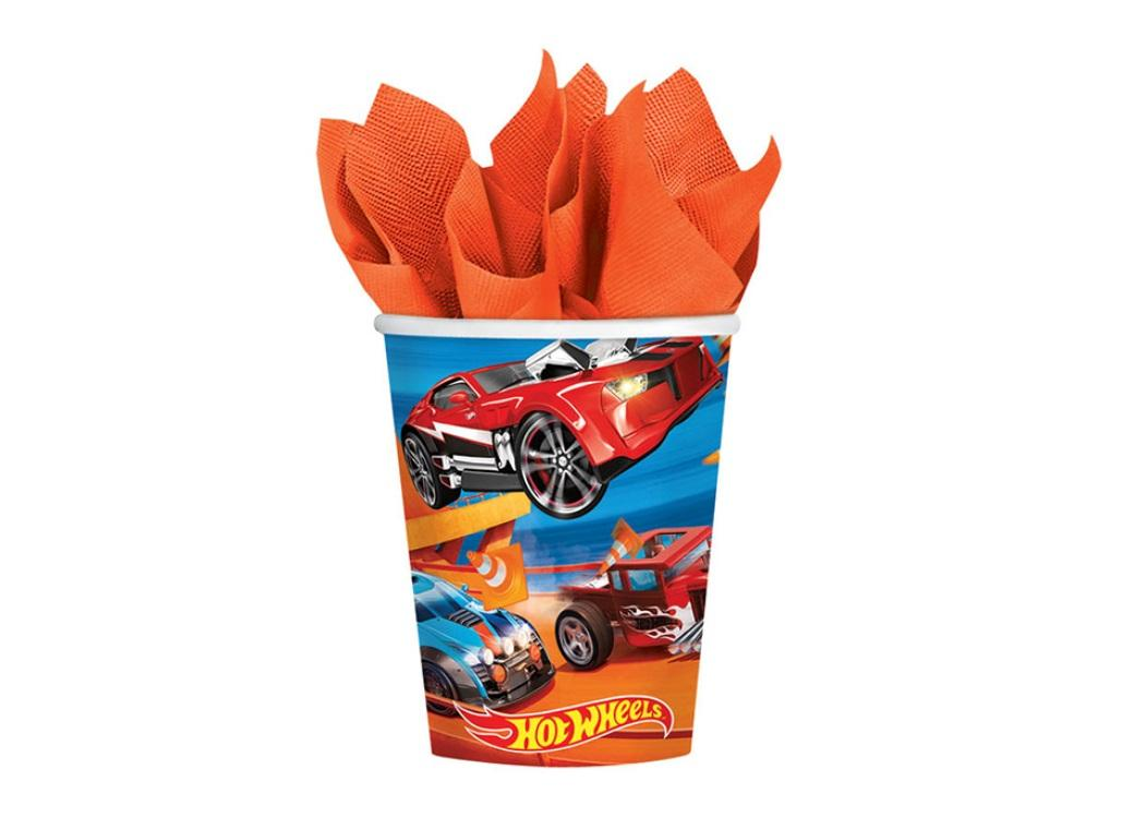Hot Wheels Party Cups - 8pk