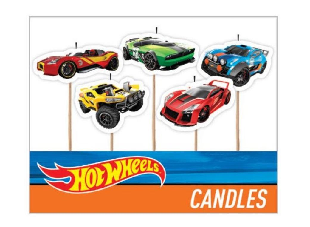 Hot Wheels Party Candles