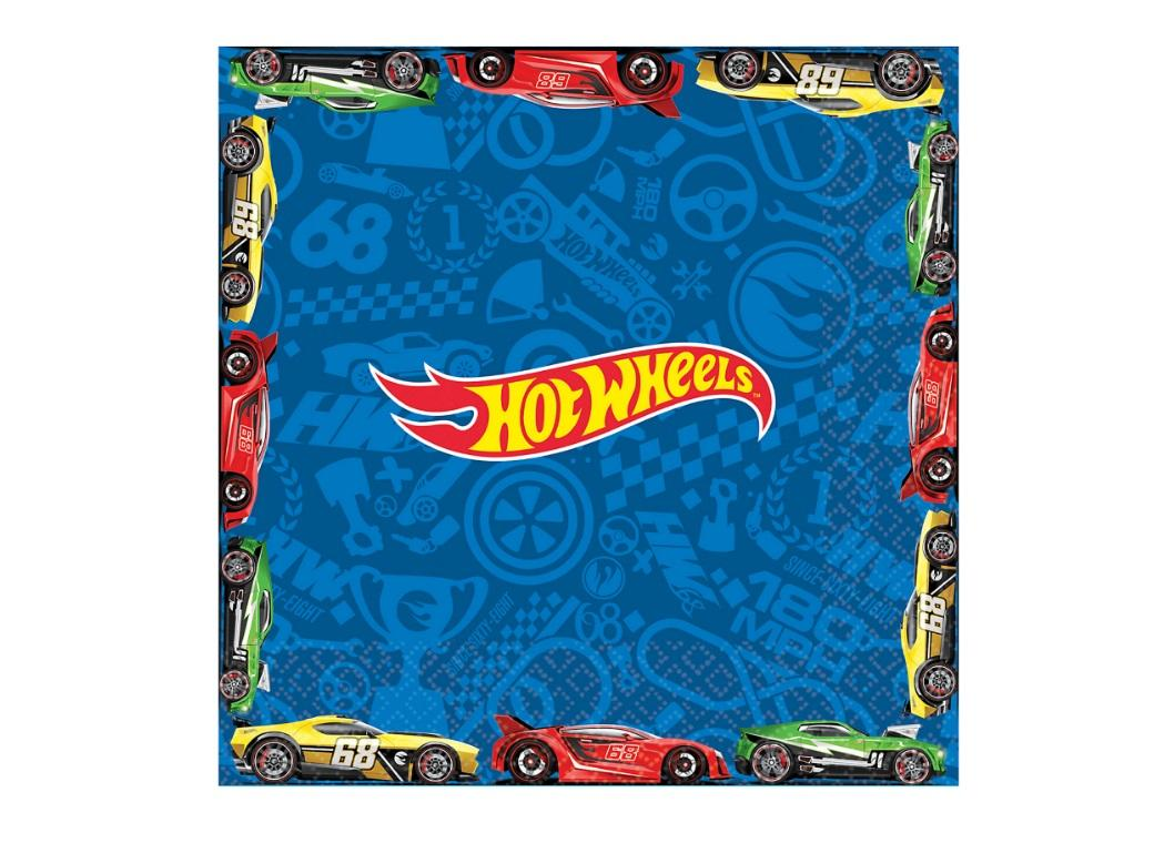 Hot Wheels Lunch Napkins 16pk