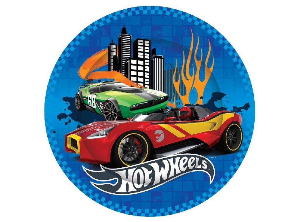Hot Wheels Party Plates 8pk