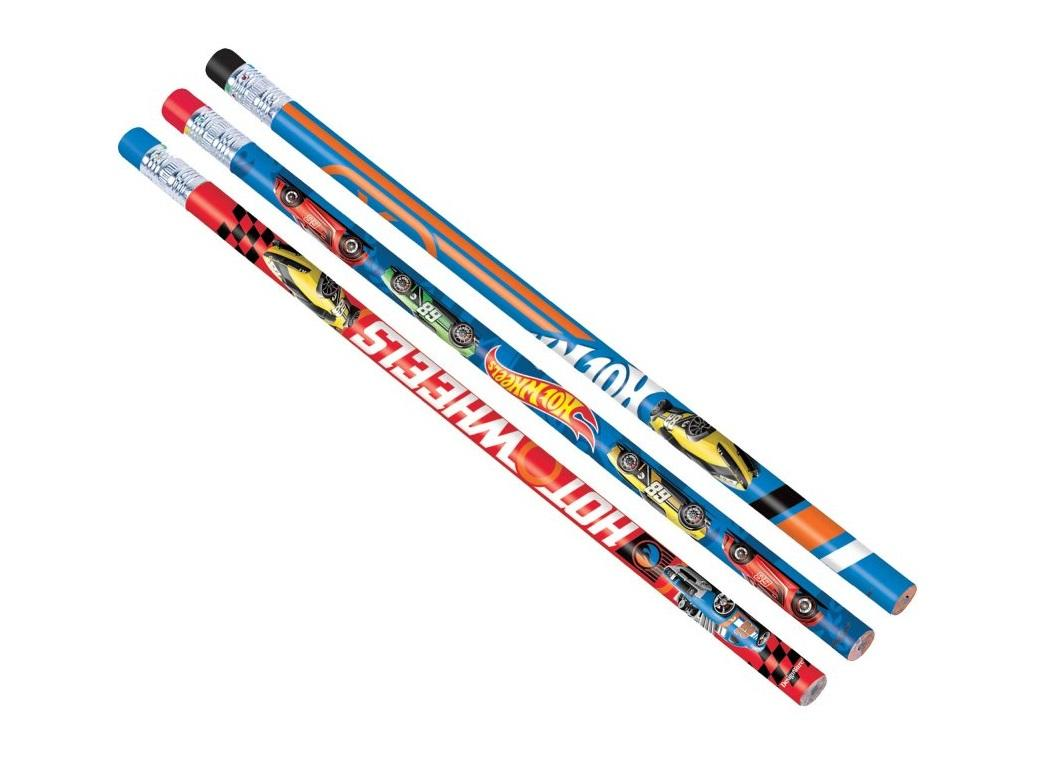 Hot Wheels Pencils 12pk