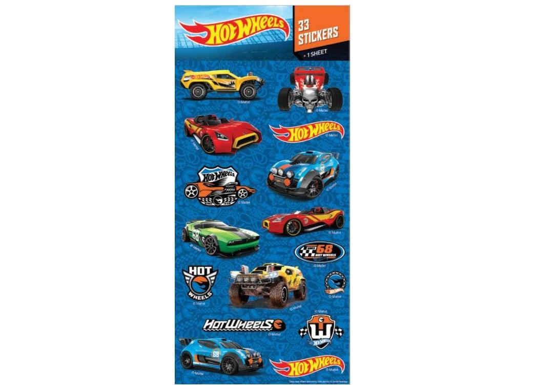 Hot Wheels Holographic Stickers