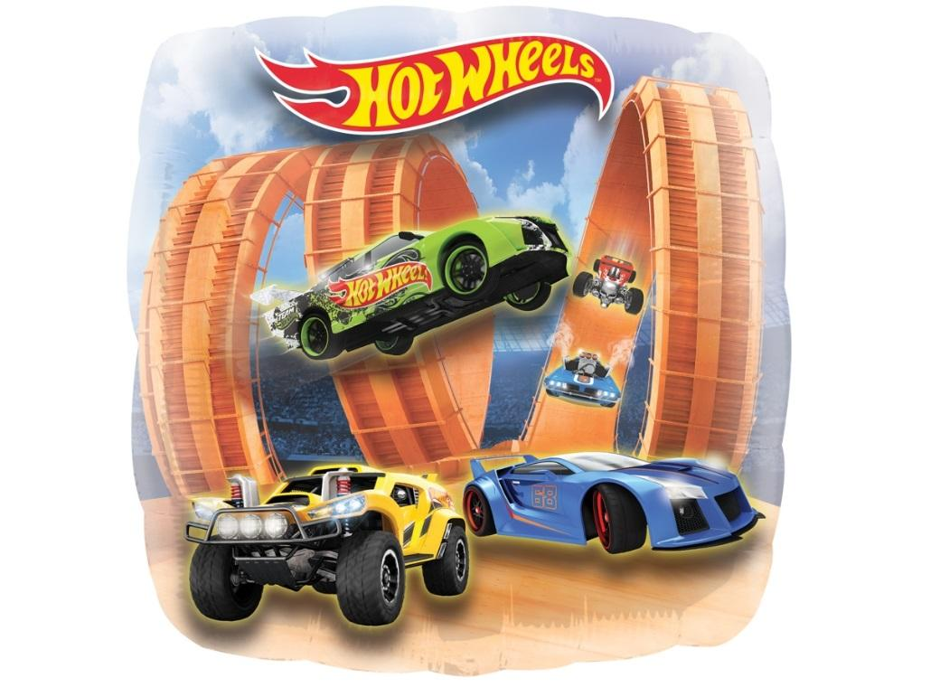 Hot Wheels SuperShape Foil Balloon